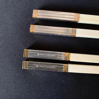 クリストフルメール(CHRISTOPHE LEMAIRE)の箸 クリストフル 白 ペア 新品(カトラリー/箸)