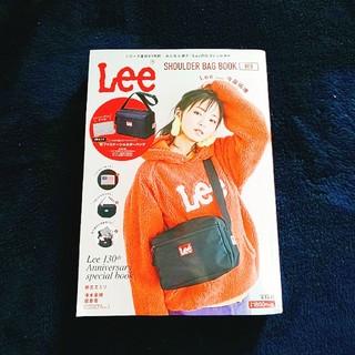 エグザイル トライブ(EXILE TRIBE)の付録なし✨Lee SHOULDER BAG RED(ファッション/美容)