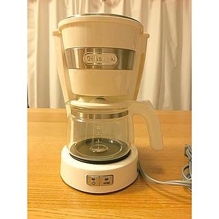 デロンギ(DeLonghi)のデロンギ コーヒーメーカー ホワイト(コーヒーメーカー)