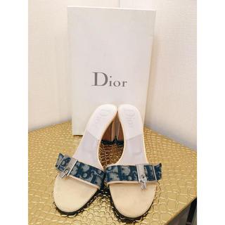 クリスチャンディオール(Christian Dior)の7月22日限り専用★正規品★極美品!Christian Diorミュール(ミュール)