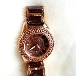 フォリフォリ(Folli Follie)のFolli Follie アナログ三針時計 新品(腕時計)
