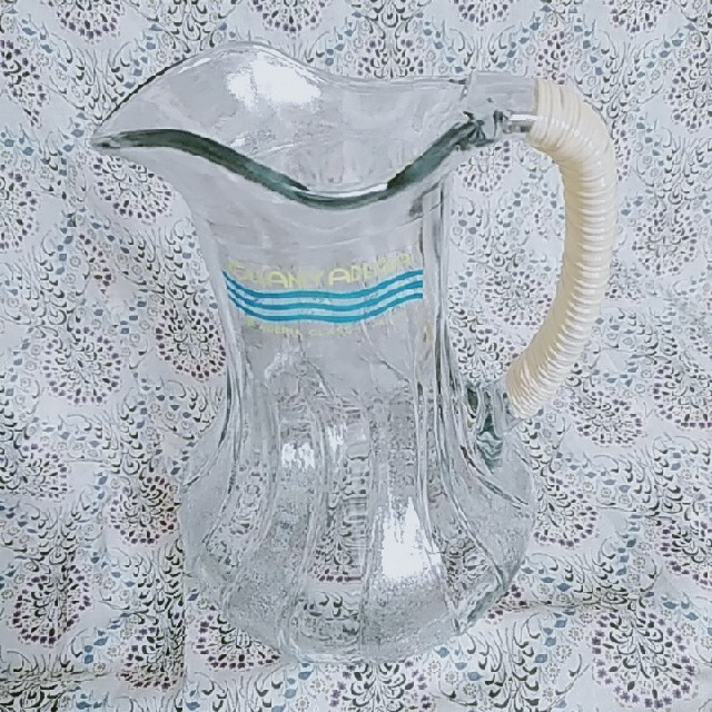 東洋佐々木ガラス(トウヨウササキガラス)のアデリア ガラスピッチャー 昭和レトロ インテリア/住まい/日用品のキッチン/食器(食器)の商品写真