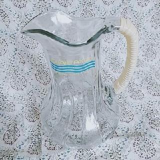 トウヨウササキガラス(東洋佐々木ガラス)のアデリア ガラスピッチャー 昭和レトロ(食器)
