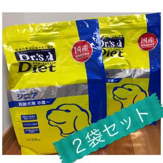 エランコ(Elanco)の送料込み【3.8kg×2袋セット】ドクターズダイエット 犬用シニア 新品未開封(ペットフード)
