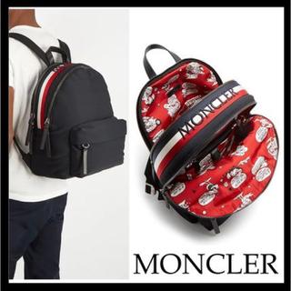 モンクレール(MONCLER)のモンクレール MONCLER リュック バックパック 新品 ロゴ 購入レシート有(バッグパック/リュック)