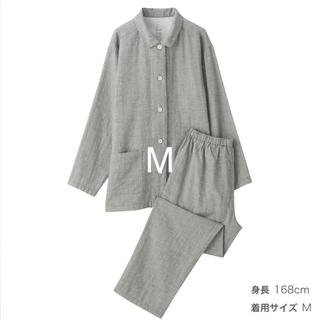MUJI (無印良品) - 脇に縫い目のない 二重ガーゼ パジャマ