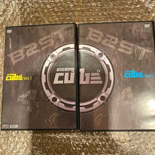 エキサイティングCUBE TV Vol.1 、2DVD BEAST (K-POP/アジア)