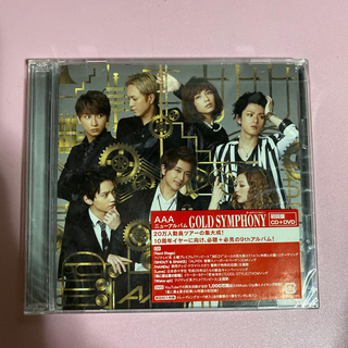 トリプルエー(AAA)のAAA 2014年 9thアルバム GOLD SYMPHONY (ポップス/ロック(邦楽))