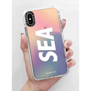 WIND AND SEA x CASETiFY iPhone X ケース(iPhoneケース)