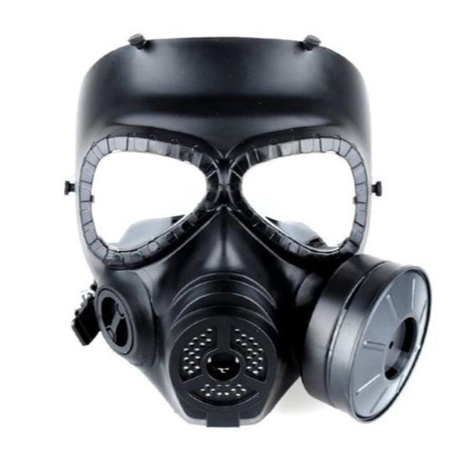 マスク 素材 使い捨て | 新品☆フェイスマスク型ガスマスク/コスプレ/スチームパンク の通販 by HANA's (プロフィール必読)