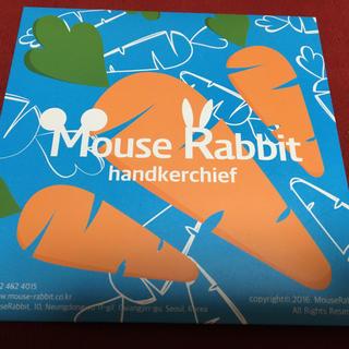 スーパージュニア(SUPER JUNIOR)のMouse Rabbit ハンカチ(ハンカチ)
