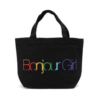 ボンジュールレコーズ(bonjour records)の新品* bonjour records ロゴ キャンバス トートバッグ(トートバッグ)
