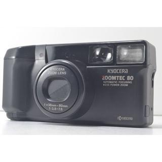 キョウセラ(京セラ)のKyocera 京セラ Zoomtec 80 35mm 動作良好 美品(フィルムカメラ)