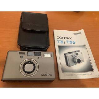 キョウセラ(京セラ)のチャック様contax t3 美品 (値段交渉可)(フィルムカメラ)