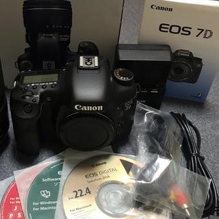 キヤノン(Canon)の美品 Canon EOS 7D  (デジタル一眼)