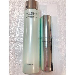 アルビオン(ALBION)のアルビオン アンフィネス ホワイトニング 化粧水 美容液 2点セット(その他)