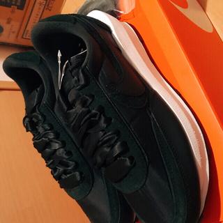 ナイキ(NIKE)の限定品 Sacai × Nike LD Waffle Nylon Black(スニーカー)
