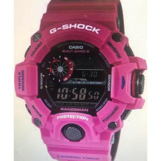 ジーショック(G-SHOCK)のG-SHOCKレンジマン サンライズパープルGW-9400srj-4jf(腕時計(デジタル))