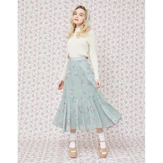 メゾンドフルール(Maison de FLEUR)の本日限定値下げ❗️メゾンドフルールプチローブ フラワープリントマーメードスカート(ロングスカート)