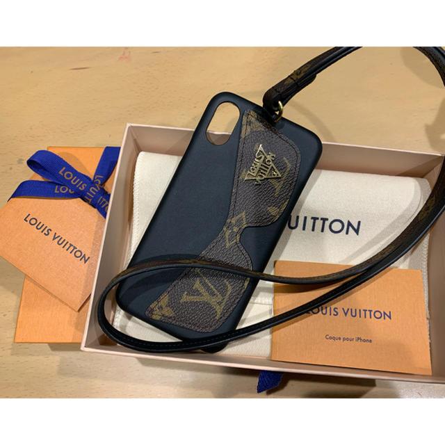LOUIS VUITTON - 今週末まで値下げ! ルイヴィトン iPhoneX/XS バンパー スマホケースの通販