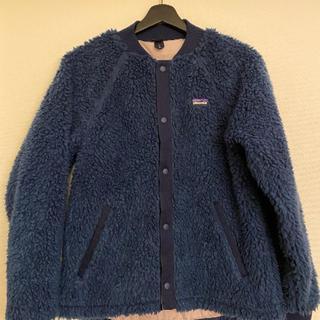 パタゴニア(patagonia)の美品PatagoniaノーカラーフリースジャケットガールズXXL(ノーカラージャケット)