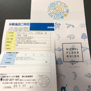 ニフレル 体験施設利用券 大人1枚(水族館)