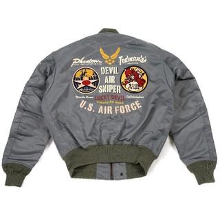 テッドマン/L-2フライトジャケット/p.gray/tl2-180/ma-1