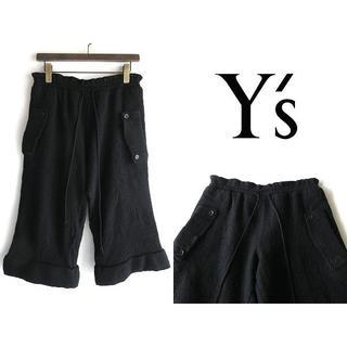 ワイズ(Y's)のY's ヨウジヤマモト 2016AW 縮絨ウール ワイドクロップドパンツ(その他)