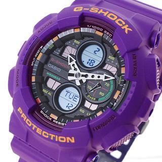 ジーショック(G-SHOCK)のカシオ CASIO 腕時計 メンズ G-SHOCK クォーツ ブラック パープル(腕時計(デジタル))