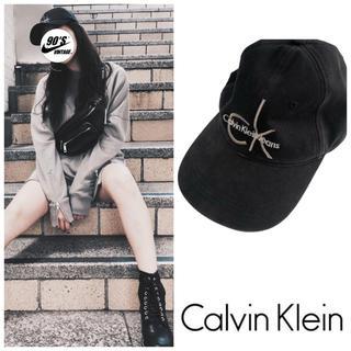 Calvin Klein - アメリカ購入品 CalvinKlein denim cap