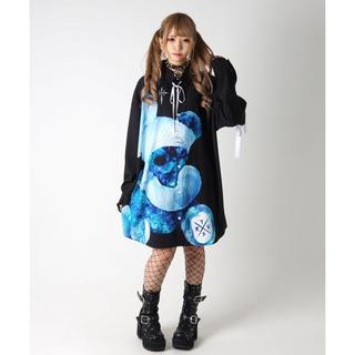 ミルクボーイ(MILKBOY)のTRAVAS TOKYO 包帯 くま シャツ ブラック(Tシャツ/カットソー(七分/長袖))