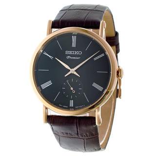 セイコー(SEIKO)の新品 SEIKO セイコー SRK040P1 メンズ 腕時計 Premier(腕時計(アナログ))