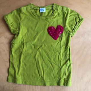 ハッカキッズ(hakka kids)のhakka kids 90㌢ ❤️Tシャツ(Tシャツ/カットソー)