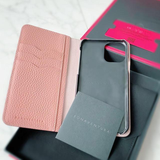 iphone6ヴィトンカバー 、 iPhone - ボナベンチュラiPhone11pro グレージュ×コーラル 一箇所のぞき超美品の通販 by パスク's shop|アイフォーンならラクマ