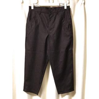 コムデギャルソン(COMME des GARCONS)のコムデギャルソンシャツ ウール ストライプ パンツ S 定価77,100円(その他)
