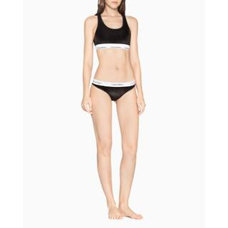 Calvin Klein - カルバンクライン 上下セット ブラレット ブラトップ S ショーツ XS 黒