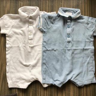 ネクスト(NEXT)のnext baby 半袖ポロシャツ パンツ ロンパース  2点セット(ロンパース)
