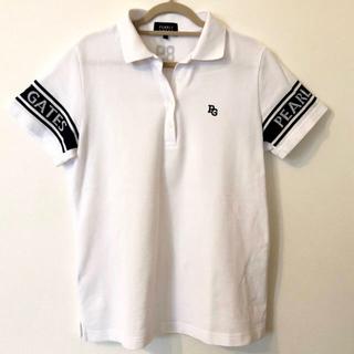 パーリーゲイツ(PEARLY GATES)のパーリーゲイツ   白 ポロシャツ サイズ1(ポロシャツ)