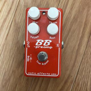 フェンダー(Fender)のXotic BB preamp(エフェクター)