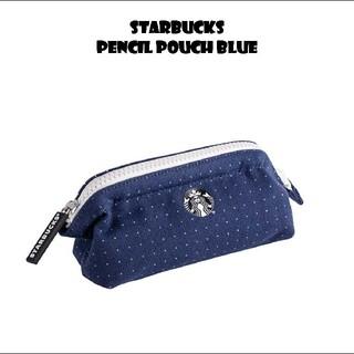 スターバックスコーヒー(Starbucks Coffee)のスターバックス デニムペンケース ポーチ ロゴ(ペンケース/筆箱)