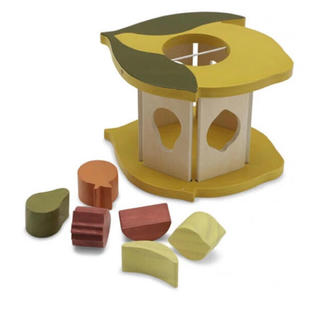 キャラメルベビー&チャイルド(Caramel baby&child )の本日のみお値下げ konges sloejd型抜きレモンブロック(積み木/ブロック)