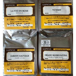 ルピシア(LUPICIA)のルピシア ノンカフェイン4種類【賞味期限切れ】(健康茶)