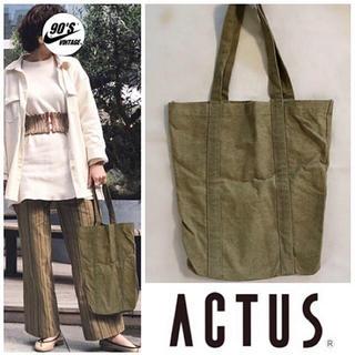 アクタス(ACTUS)の¥1000SALE ACTUS canvas totebag(トートバッグ)