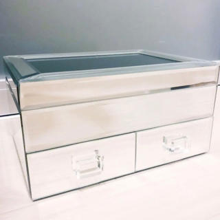 ザラホーム(ZARA HOME)の新品 ZARA HOME ザラホーム ミラー ケース ジュエリーボックス 宝石箱(小物入れ)