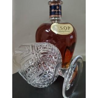 サントリー - サントリー V.S.O.P 希少特別特製ブランデーグラス付き