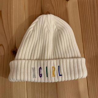 X-girl - x-girl ニット帽 帽子