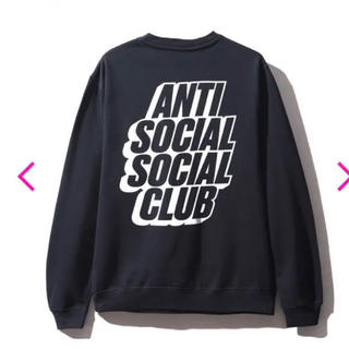 シュプリーム(Supreme)のアンチソーシャルソーシャルクラブ BLOCKED BLACK CREWNECK(スウェット)
