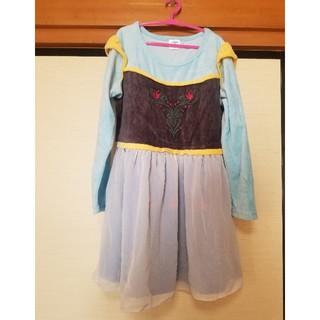 アナトユキノジョオウ(アナと雪の女王)のアナと雪の女王♡ワンピースドレス♡130cm(ワンピース)