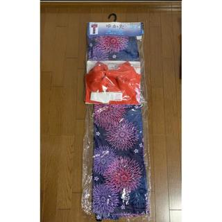 シマムラ(しまむら)のCLOSSHI ゆかた 浴衣 4点セット レディース  婦人  新品未使用(浴衣)