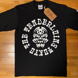テンダーロイン(TENDERLOIN)の人気品! TENDERLOIN 半袖 Tシャツ ボルネオスカル ブラック 黒 M(Tシャツ/カットソー(半袖/袖なし))